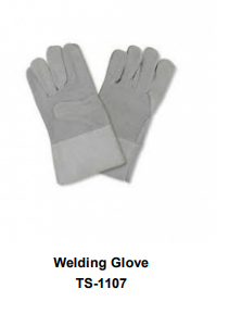 Premium Leather Welding Gloves  Long Cuff TSI 1107