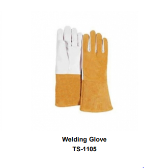 Premium Leather Welding Gloves  Long Cuff TSI 1105