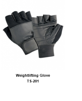 Weight Lifting Gym Workout Gloves with Wrist Wrap Support for Men & Women TSI  201