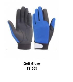 Men's Golf Gloves Blue Model No.TSI 508