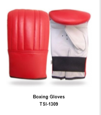 Genuine Leather Pro Style Boxing  Training Gloves TSI 1309