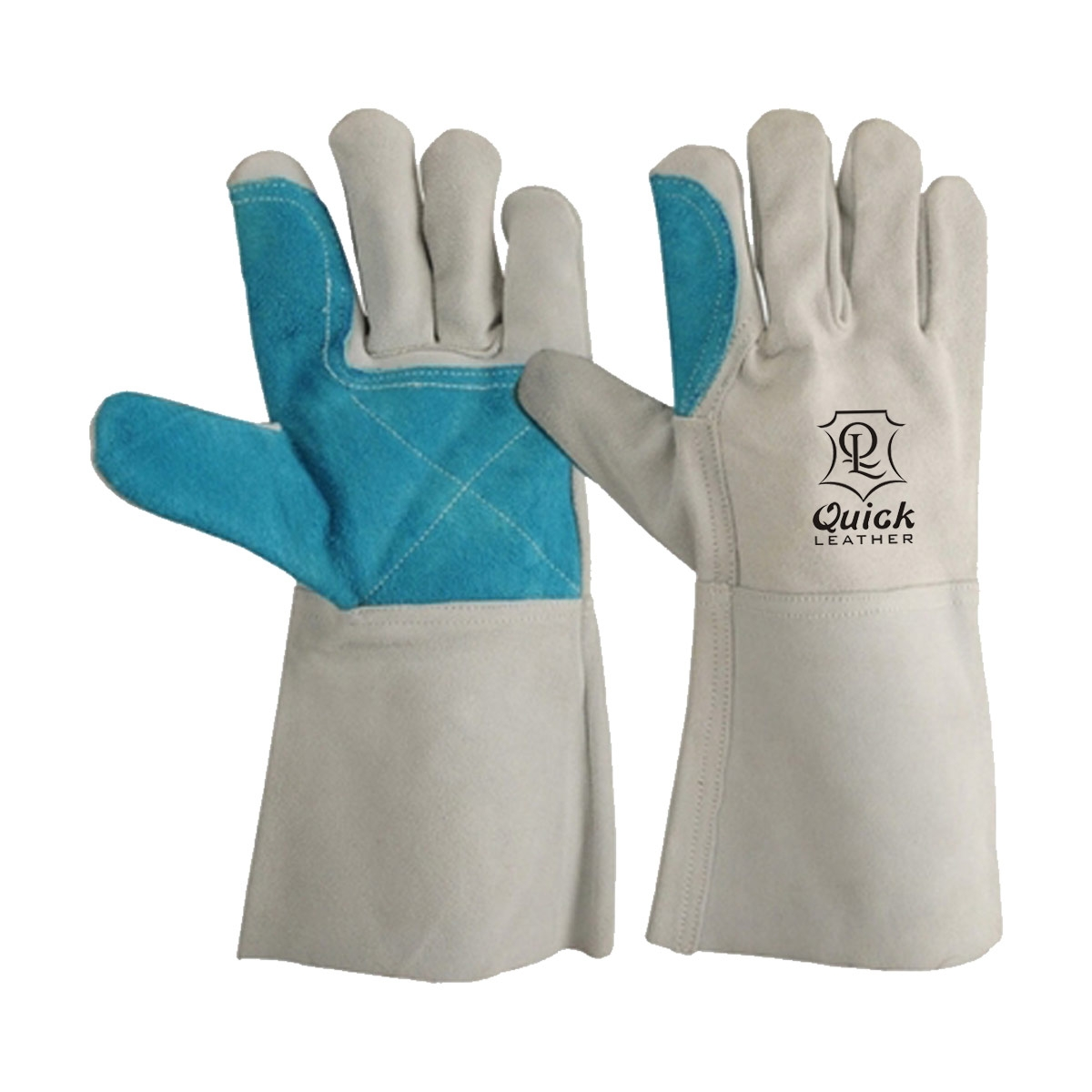 Welding gloves are excellent for use when welding in dry and oily conditions. QL-217