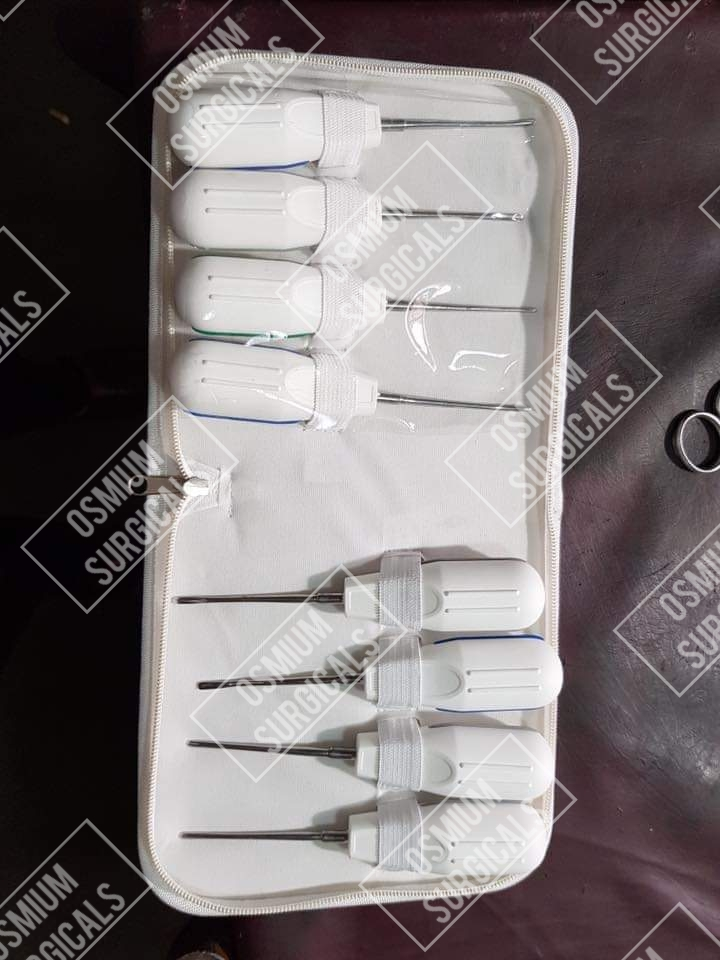 Plastic Handel Dental Elevator kit   OS -1010