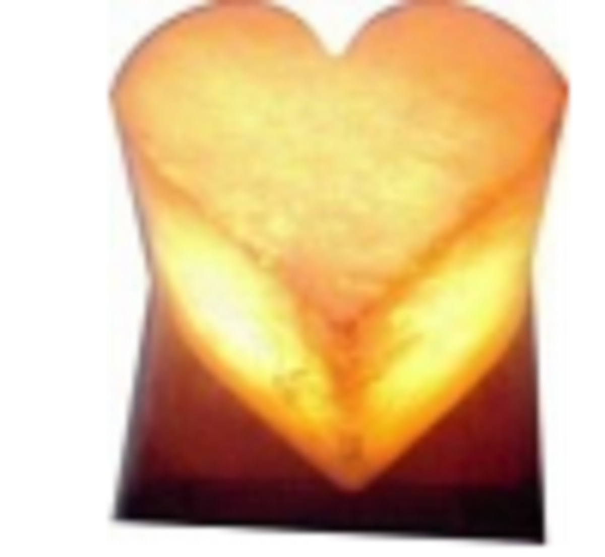 Himalayan Salt Lamp HEART  SHAPE ZRS 0662