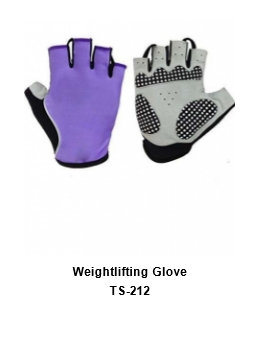 Weight Lifting Gym Workout Gloves with Wrist Wrap Support for Men & Women TSI  212