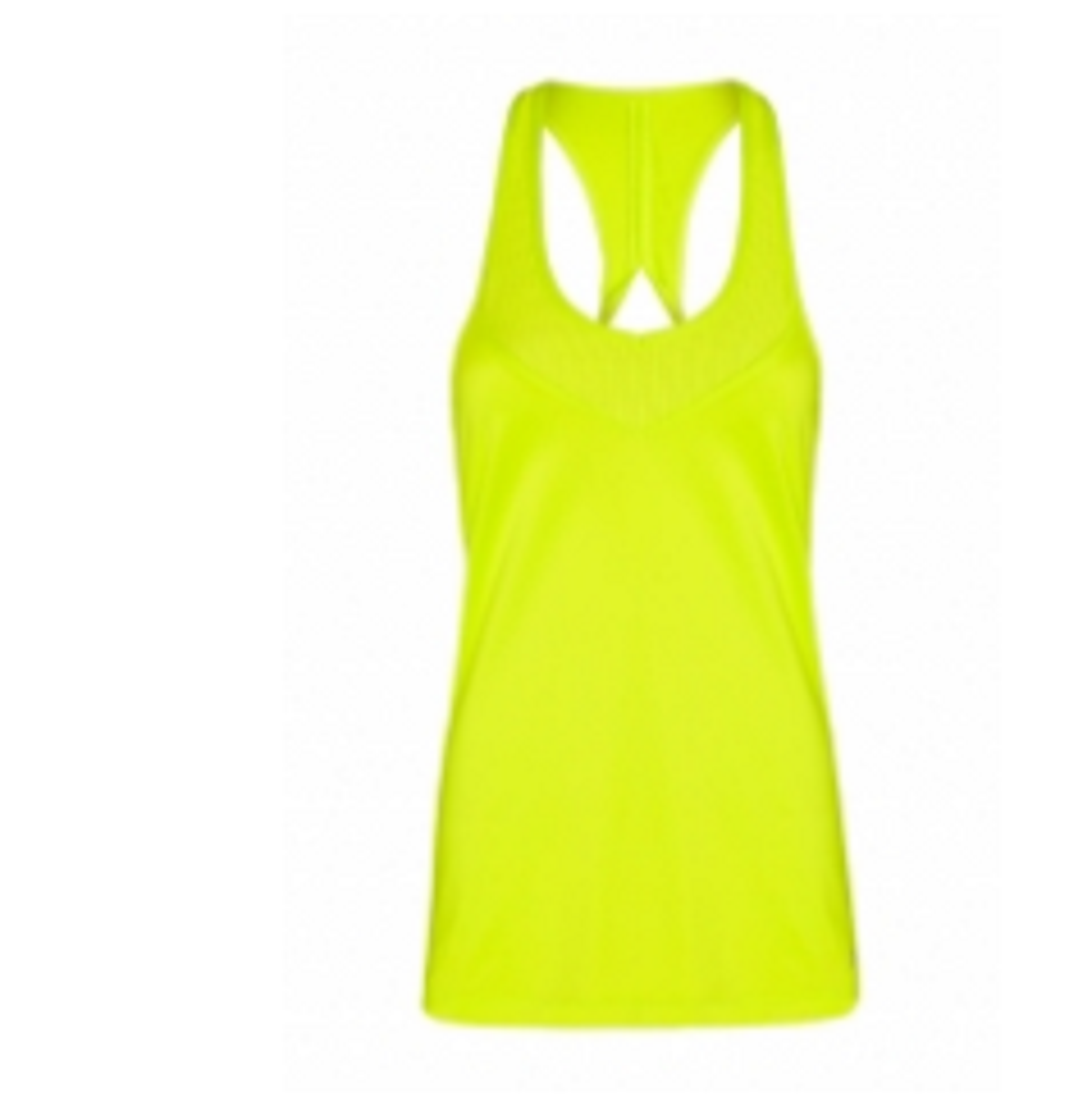 Women's  Fearless Tank Yellow color TSI­3108