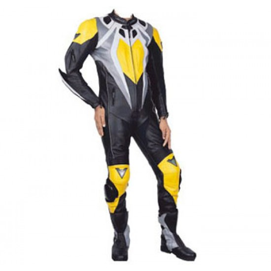 Motorbike & Auto Racing Leather Suit DR-102