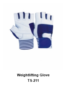 Weight Lifting Gym Workout Gloves with Wrist Wrap Support for Men & Women  TSI  211