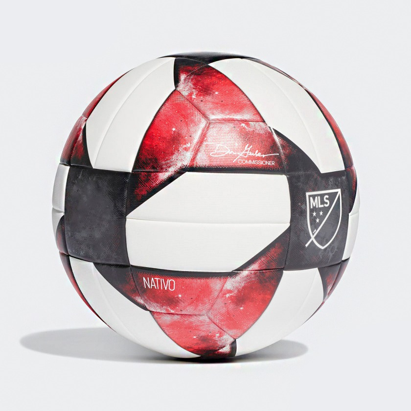 MLS NFHS NATIVO (Red & Black Edition) Thermal Molded Football PE-518
