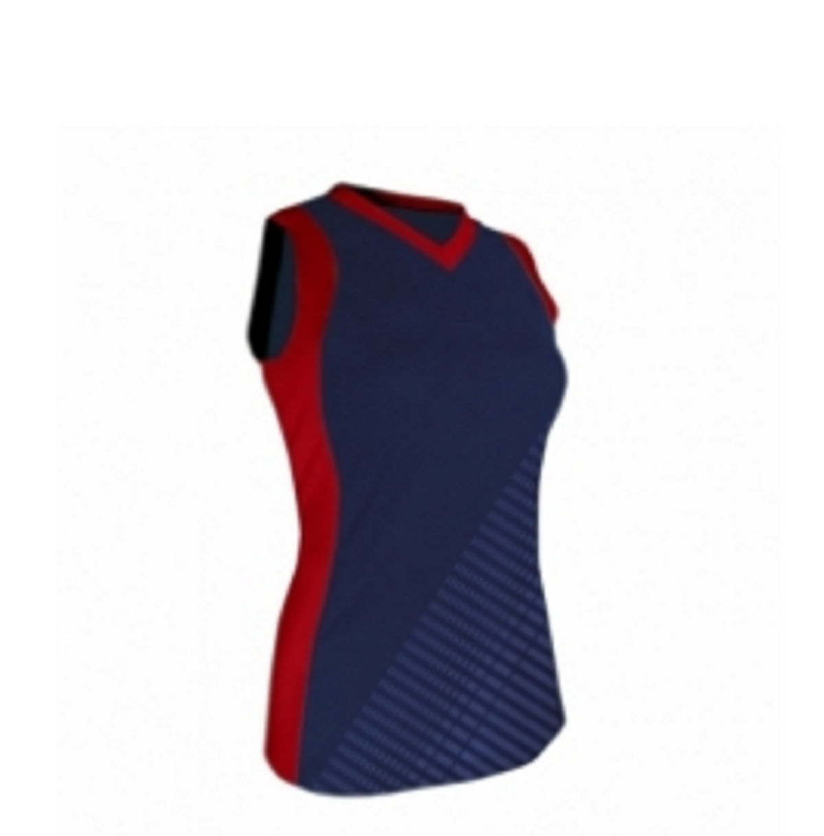 Volleyball Uniforms Shirt Blue & Red Model No TSI­5804