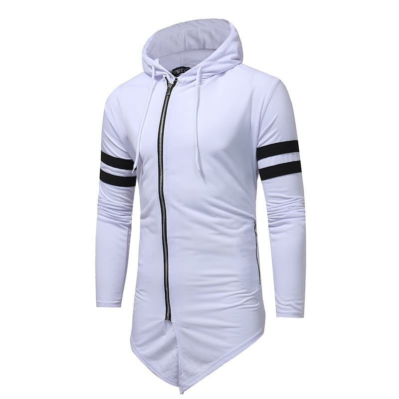 Men Sports Hood White KB -21