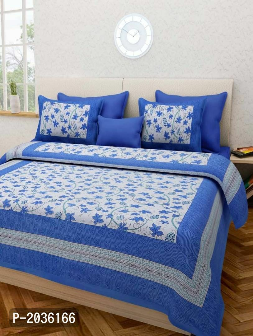 Luxurious 4 Piece Bed Set with Duvet Cover Fitted Sheet AQF-0003