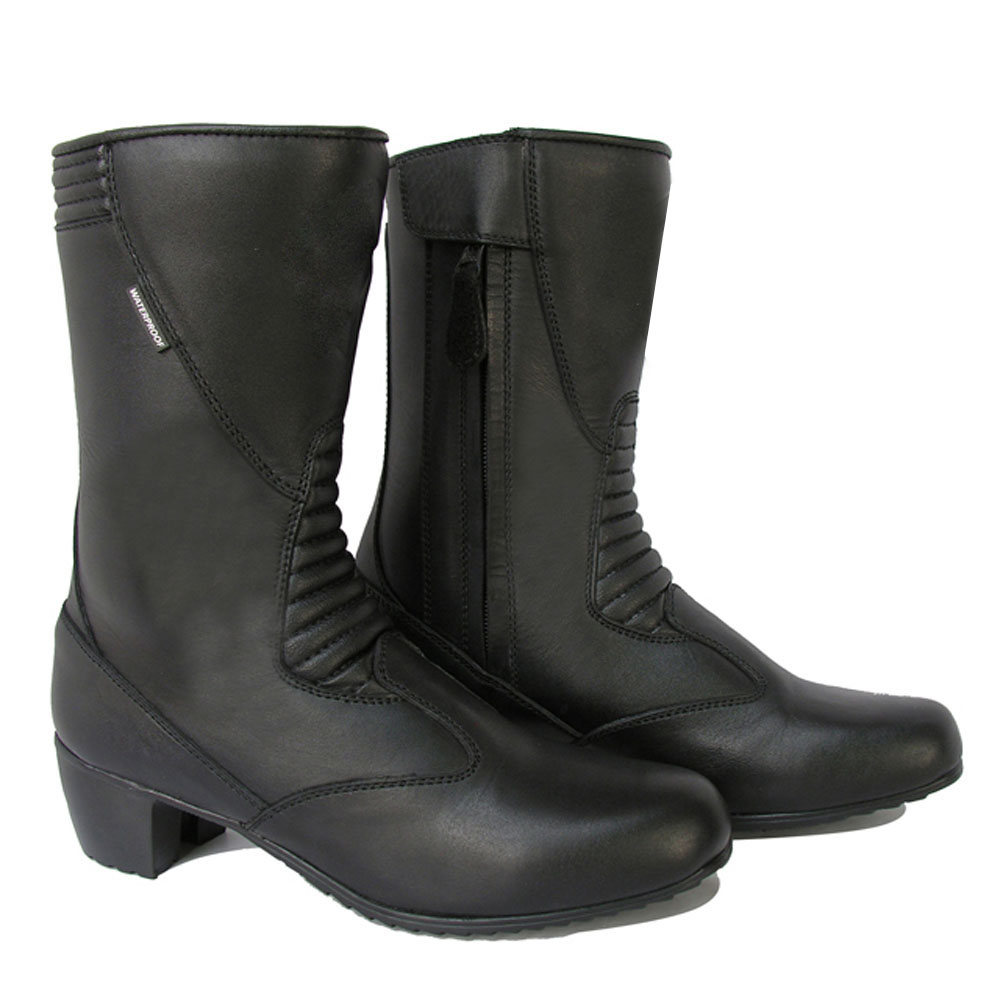 Motorbike Ladies Racing Boots For Bikers DRB-1227
