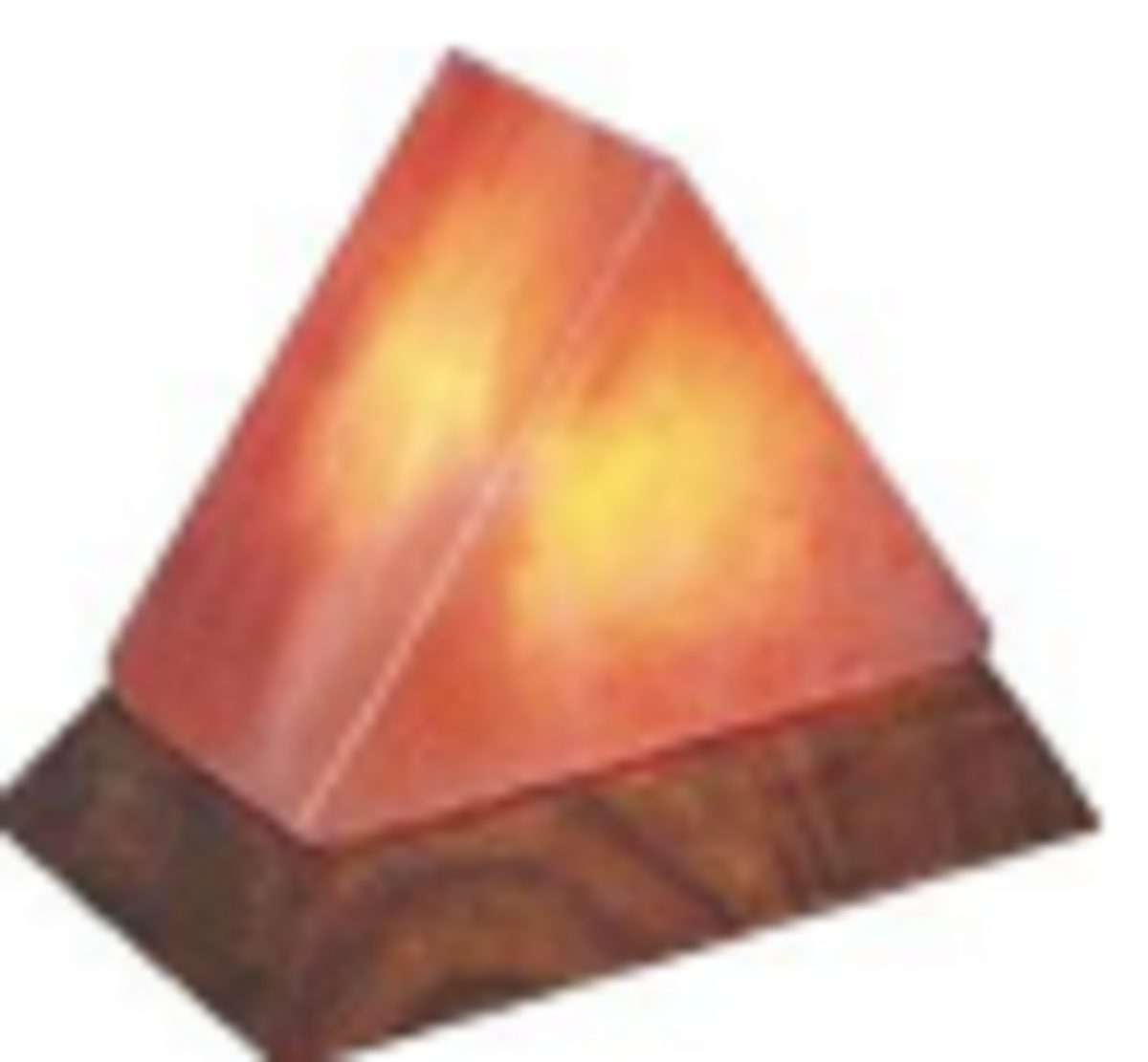 Himalayan Salt Lamp  TRIANGLE SHAPE ZRS 0654