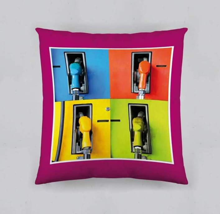 Digital Print Cushion Cover 100% Cotton Satin AIT-011