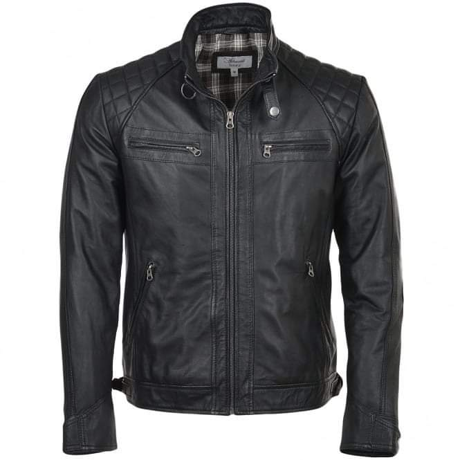 Motorcycle Men Leather Jackets  TIMJ  016