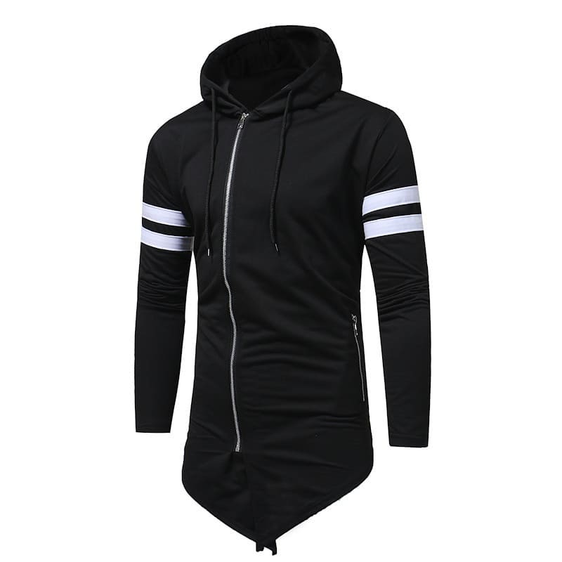 Men Sports Hood Black  KB -20