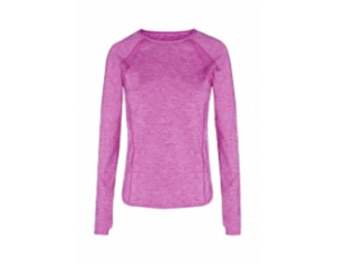 Ladies  Sports Tops Purple TSI­ 3411