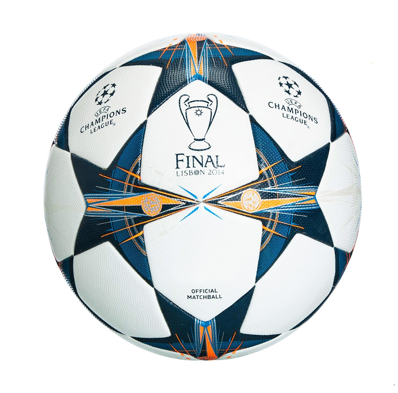 UEFA Champions League Final LISBON 2014 Thermal Molded Football PE-517
