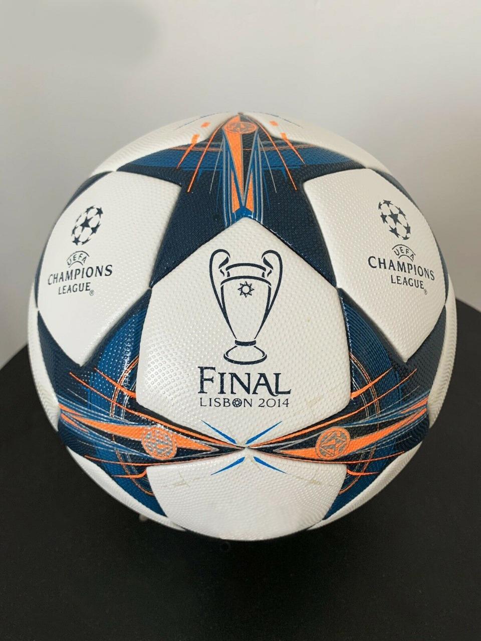 uefa champions league final lisbon 2014 thermal molded football pe 517 sports goods football play ego uefa champions league final lisbon 2014