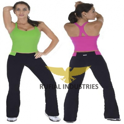 Women Trouser to wear  for yoga Exercise RUF-406