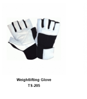 Weight Lifting Gym Workout Gloves with Wrist Wrap Support for Men & Women TSI  206