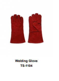 Premium Leather Welding Gloves  Long Cuff TSI 1104