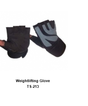 Weight Lifting Gym Workout Gloves with Wrist Wrap Support for Men & Women  TSI  213