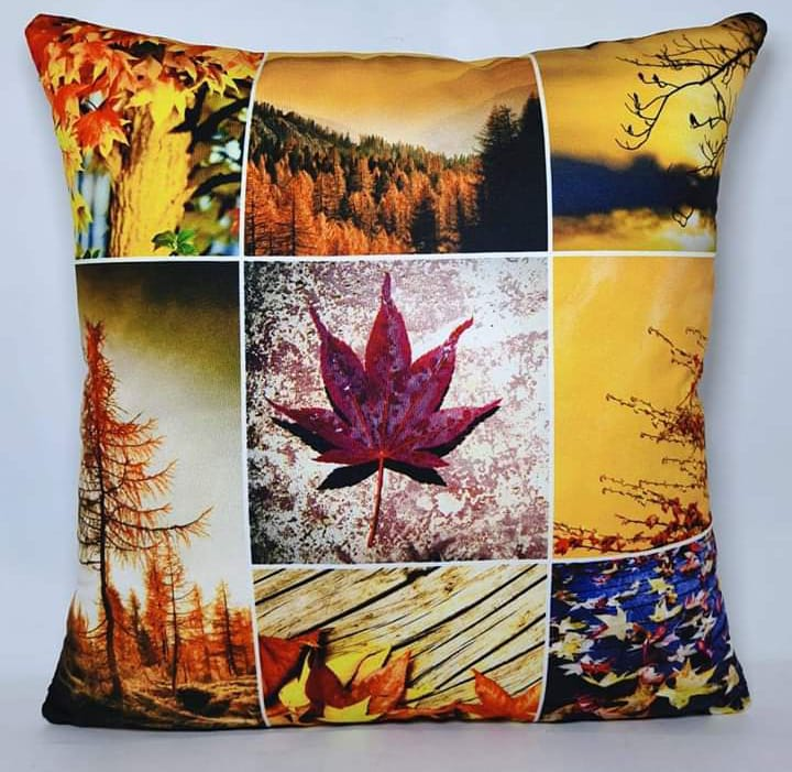Digital Print Cushion Cover 100% Cotton Satin AIT-012