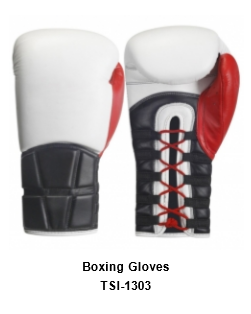 Genuine Leather Pro Style Boxing  Training Gloves TSI 1303