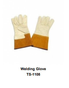 Premium Leather Welding Gloves  Long Cuff TSI 1108
