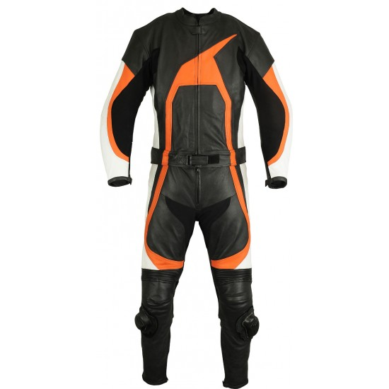Motorbike & Auto Racing Leather Suit DR-111