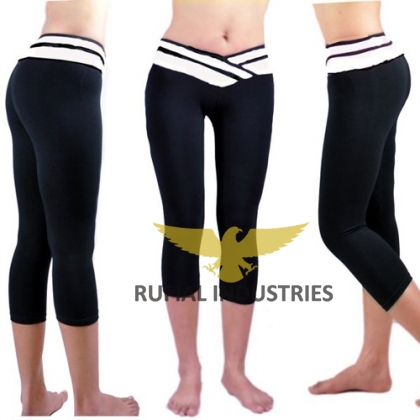 Women Trouser to wear  for yoga Exercise RUF-407