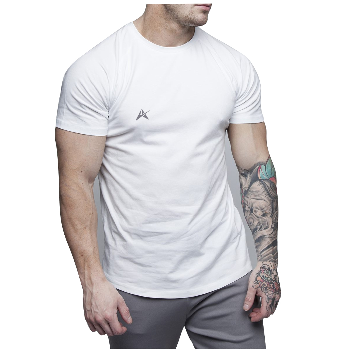 100% Cotton Dry Fit Men Screen Printing T-Shirt AI-019
