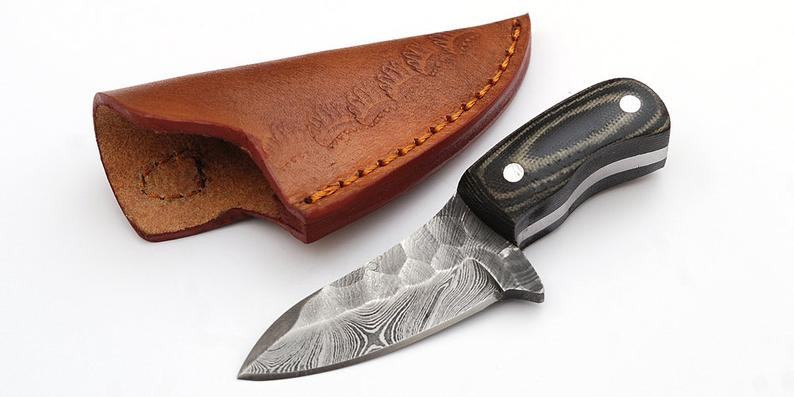 Custom Made 1095 Hunting Knife GT-4319
