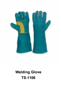 Premium Leather Welding Gloves  Long Cuff TSI 1106