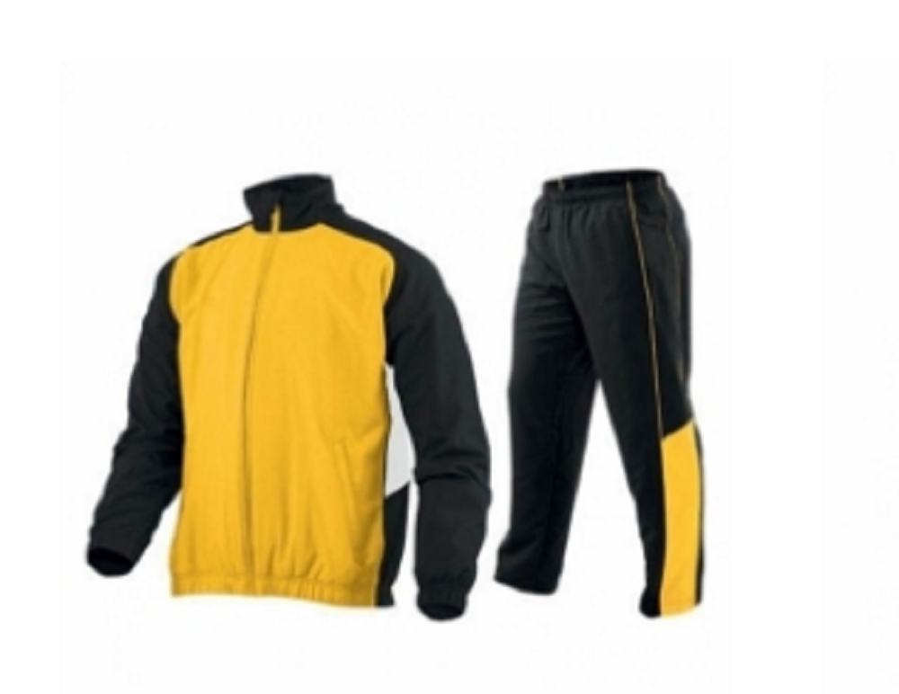Men's Track Suits Sports Yellow & Black Model No- TSI 2605