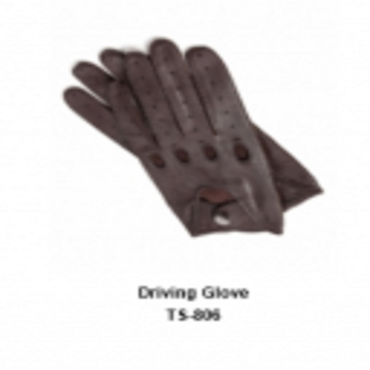 Leather Men's Fashion Driving Gloves Model No. TSI 806