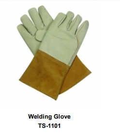 Premium Leather Welding Gloves  Long Cuff TSI 1101