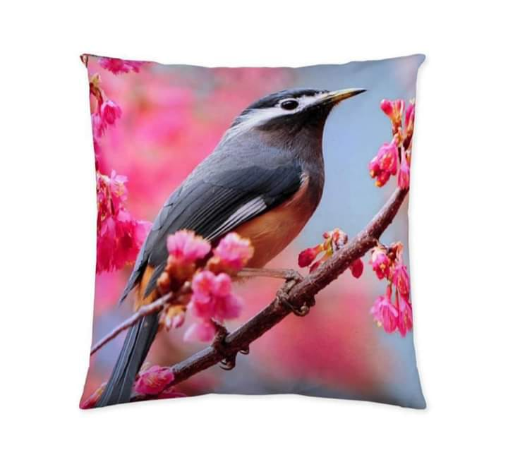 Digital Print Cushion Cover 100% Cotton Satin AIT-013