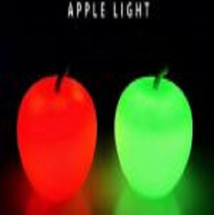 USB Cute Apple Natural USB Himalayan Salt Lamp Crystal Salt Rock Mini Hand Carved Lamp with Multi-Color LED Changing Bulb SL-24