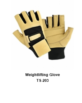 Weight Lifting Gym Workout Gloves with Wrist Wrap Support for Men & Women TSI  203