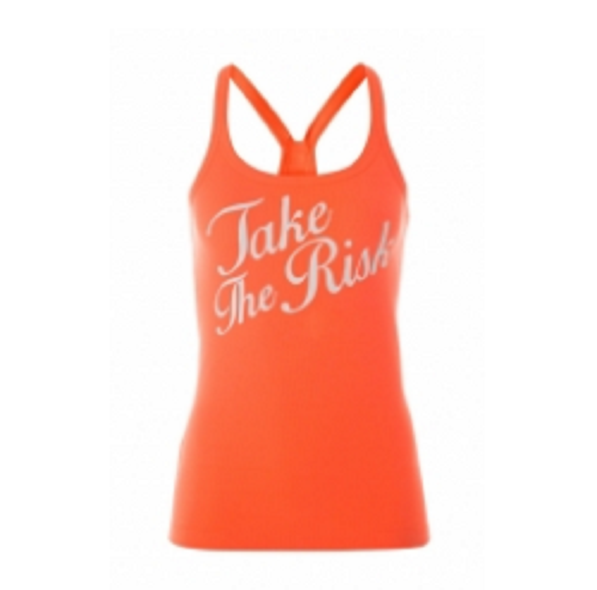 Womens Workout Clothes Tank Orange   TSI­ 3208
