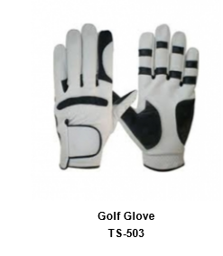 Men's Golf Gloves White Model No.TSI 503