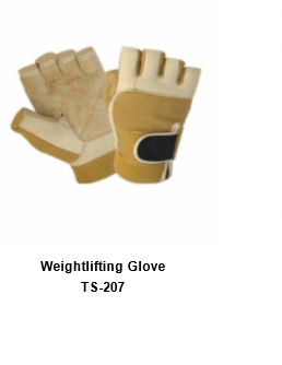 Weight Lifting Gym Workout Gloves with Wrist Wrap Support for Men & Women TSI  207
