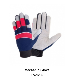 Mechanic Flex Grip Work Gloves, Shrink Resistant, Excellent Grip  TSI 1206