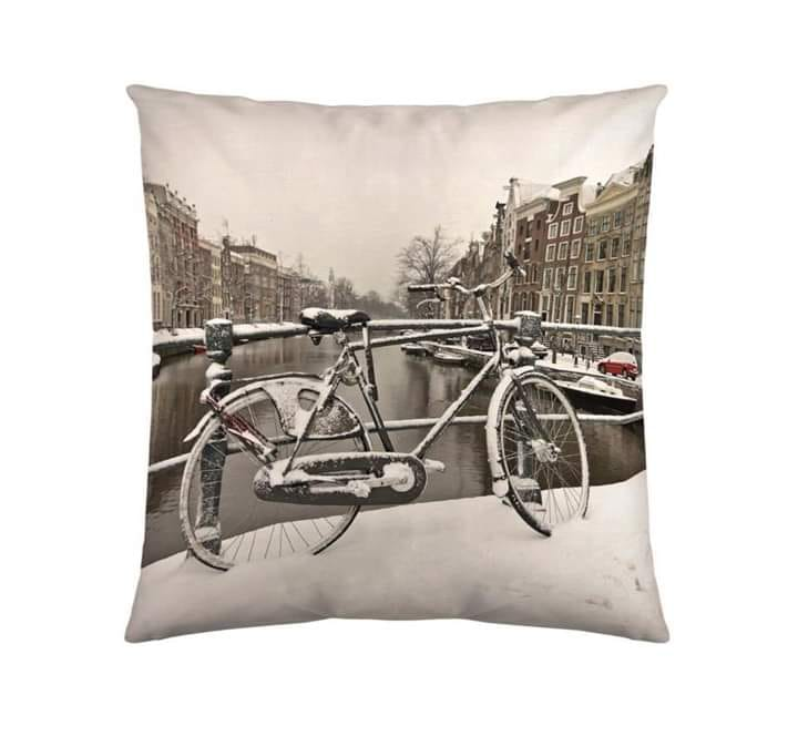 Digital Print Cushion Cover 100% Cotton Satin AIT-006