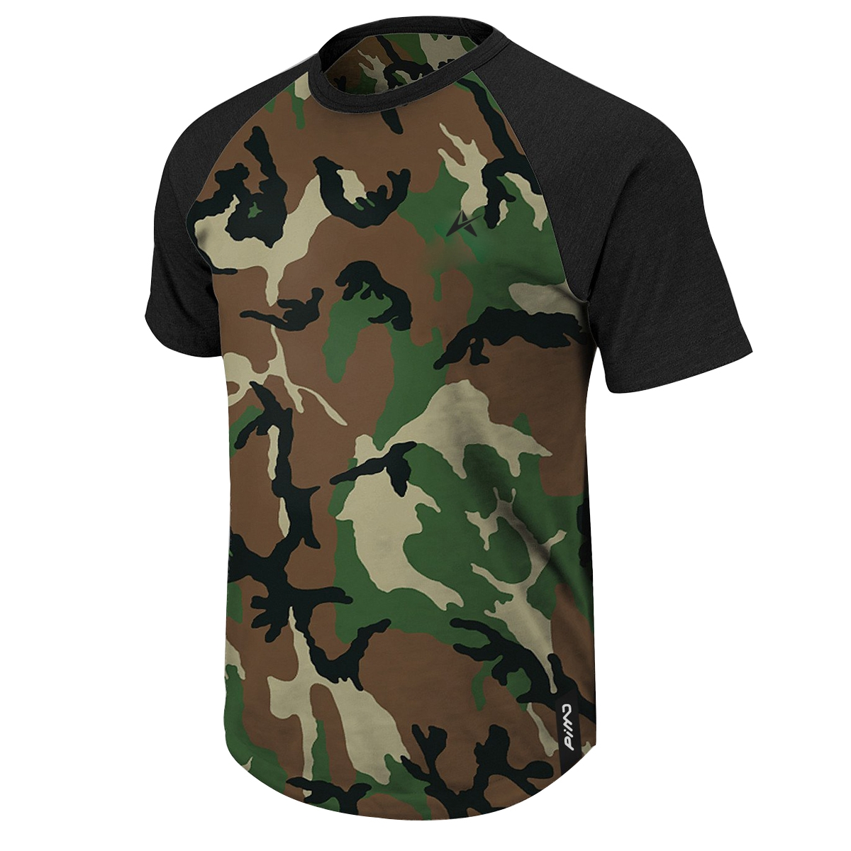 Military Style Half Sleeve Solid T-Shirt AI-009