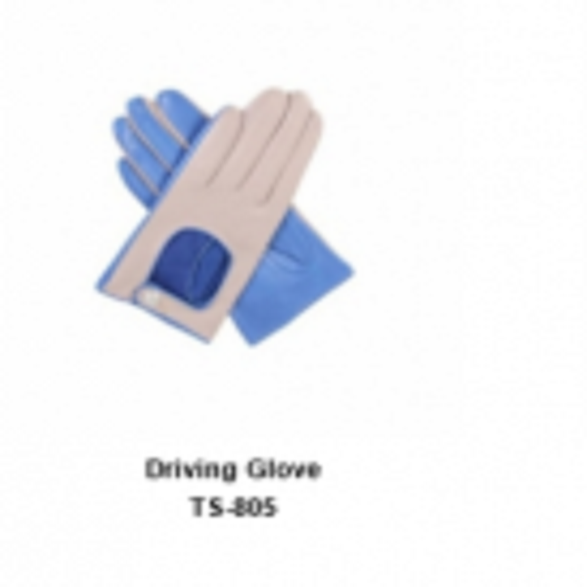 Leather Men's Fashion Driving Gloves Model No. TSI 805