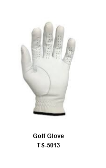 Men's Golf Gloves white Model No.TSI 513